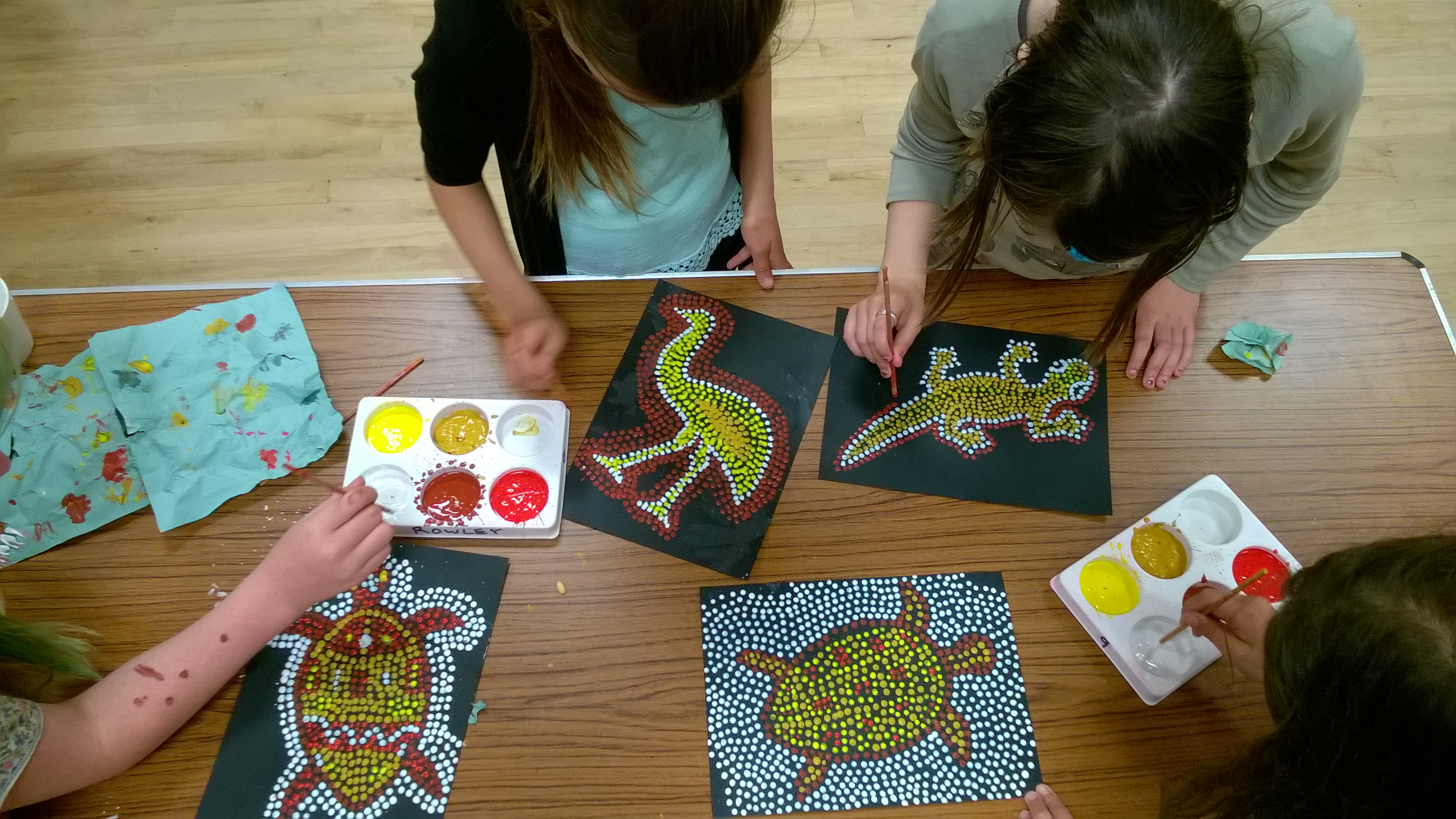 gallery stories and art aboriginal art workshops for
